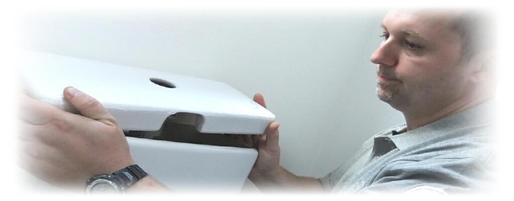 Toilet flush system repairs