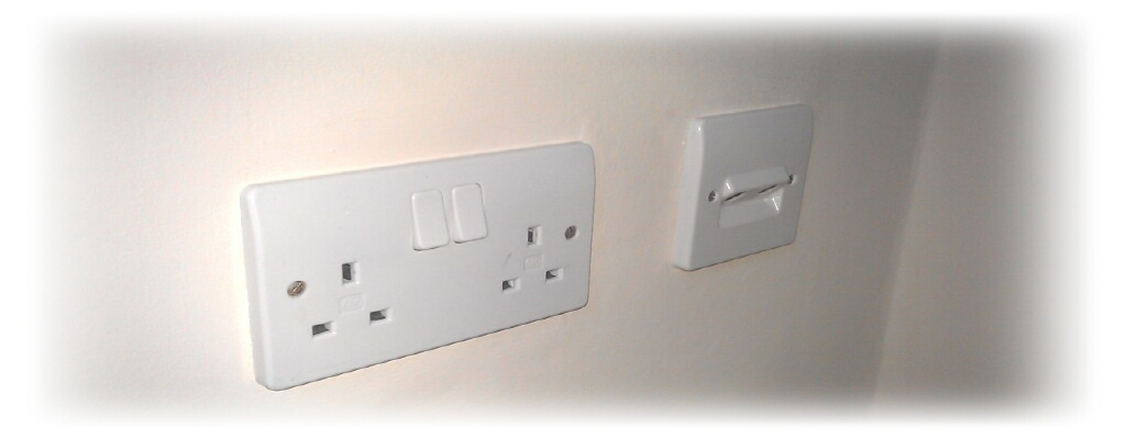 Mains plugs & switches repairs or replacement