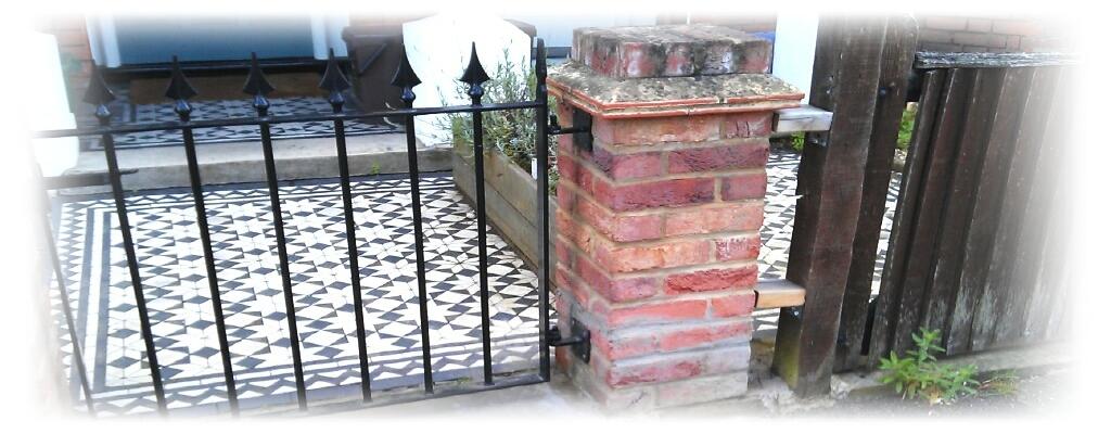 Brick column structural repair
